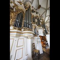 Merseburg, Dom St. Johannes und St. Laurentius, Orgel mit Spieltisch