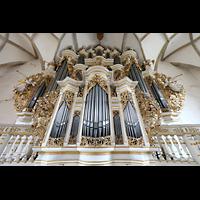 Merseburg, Dom St. Johannes und St. Laurentius, Rückpositiv mit Orgelprospekt