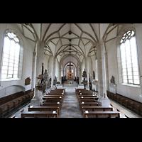 Merseburg, Dom St. Johannes und St. Laurentius, Blick von der Orgelempore in den Dom