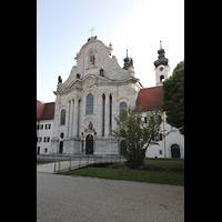 Zwiefalten, Münster Unserer Lieben Frau (Chororgel), Münsterplatz