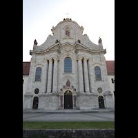 Zwiefalten, Münster Unserer Lieben Frau (Chororgel), Westfassade
