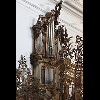 Zwiefalten, Münster Unserer Lieben Frau (Chororgel), Chororgel, linker Teil