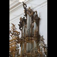 Zwiefalten, Münster Unserer Lieben Frau (Chororgel), Chororgel, rechter Teil