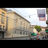 Basel, Stadtcasino, Musiksaal, Außenansicht vom Steinenberg aus