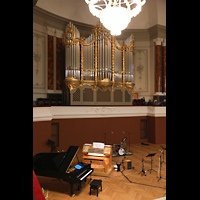 Basel, Stadtcasino, Musiksaal, Bühne mit Orgel