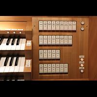 Basel, Stadtcasino, Musiksaal, Rechte Registerstaffel