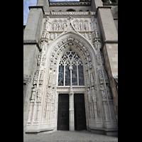 Lausanne, Cathédrale, Hauptportal