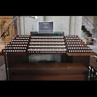 Lausanne, Cathédrale, Mobilder Spieltisch