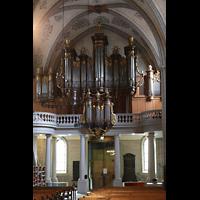 Lausanne, Saint-François (Spanische Orgel), Orgelempore der großen Orgel