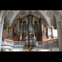 Lausanne, Saint-François (Spanische Orgel), Hauptorgel