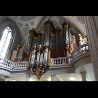 Lausanne, Saint-François (Spanische Orgel), Hauptorgel seitlich