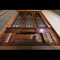 Lausanne, Saint-François (Spanische Orgel), Italienische Orgel mit Spieltisch