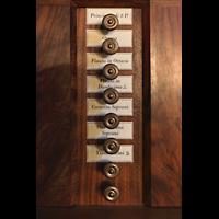 Lausanne, Saint-François (Spanische Orgel), Rechte Registerstaffel der italienischen Orgel