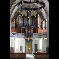 Lausanne, Saint-François (Spanische Orgel), Hauptorgelempore