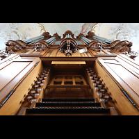 Arlesheim, ehem. Dom, Spieltisch und Orgel