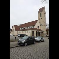 Berlin - Steglitz, Mater Dolorosa Lankwitz, Außenansicht
