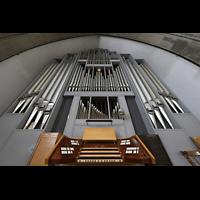 Berlin (Wilmersdorf), Grunewaldkirche, orgel mit Spieltisch