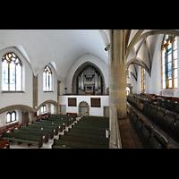 Berlin (Wilmersdorf), Grunewaldkirche, Orgel von der seitlichen Empore aus gesehen