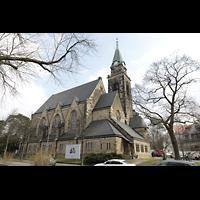 Berlin (Wilmersdorf), Grunewaldkirche, Außenansicht der Kirche
