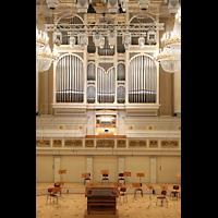 Berlin (Mitte), Konzerthaus, Großer Saal, Orgel und Orchesterbühne