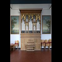 Berlin (Wilmersdorf), Lindenkirche, Italienische Orgel in der Kapelle