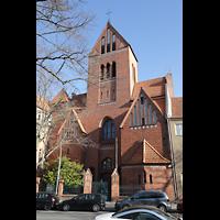 Berlin (Reinickendorf), St. Marien (Hauptorgel), Außenansicht der Kirche
