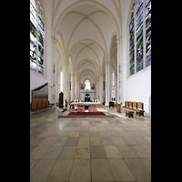 Berlin (Schöneberg), St. Matthias, Blick vom Chorraum zur Orgel