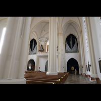 Berlin (Schöneberg), St. Matthias, Seitlicher Blick zur Orgel