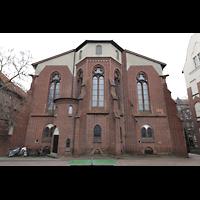 Berlin - Weißensee, St. Josef, Chor von außen