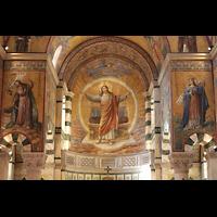 Berlin (Prenzlauer Berg), Herz-Jesu-Kirche, Gemälde im Chorraum und Querhaus