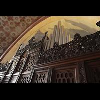 Berlin (Prenzlauer Berg), Herz-Jesu-Kirche, Orgelprospekt seitlich