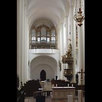 Straubing, Basilika St. Jakob, Orgelempore