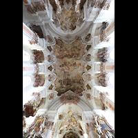 Metten, Benediktinerabtei, Pfarr- und Stiftskirche St. Michael, Deckengewölbe