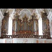 Metten, Benediktinerabtei, Pfarr- und Stiftskirche St. Michael, Orgel