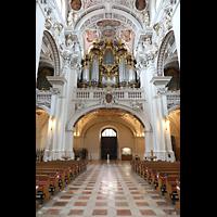 Passau, Dom St. Stephan, Orgelempore
