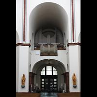 Berlin - Spandau, St. Marien (Maria, Hilfe der Christen), Orgelempore