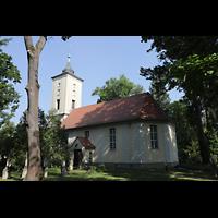 Berlin - Heiligensee, Dorfkirche, Außenansicht von Südosten