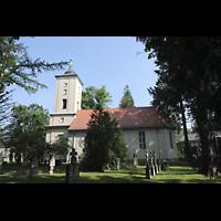 Berlin - Heiligensee, Dorfkirche, Außenansicht von Süden