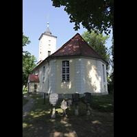 Berlin - Heiligensee, Dorfkirche, Außenansicht von Osten