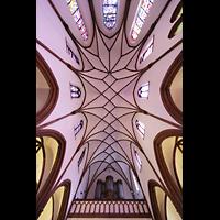 Berlin (Reinickendorf), Herz-Jesu-Kirche Tegel, Orgel und Dechengewölbe