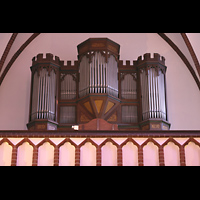 Berlin (Reinickendorf), Herz-Jesu-Kirche Tegel, Orgelempore