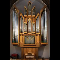 Berlin (Reinickendorf), St. Marien (Hauptorgel), Orgel (beleuchtet)