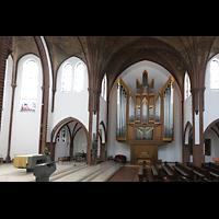 Berlin (Reinickendorf), St. Marien (Hauptorgel), Orgel und Altarraum
