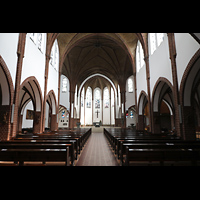 Berlin (Reinickendorf), St. Marien (Hauptorgel), Innenraum in Richtung Chor