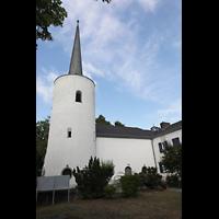 Berlin (Reinickendorf), Maria-Gnaden, Außenansicht mit Turm