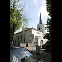 Berlin (Reinickendorf), Maria-Gnaden, Außenansicht seitlich