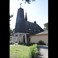 Berlin - Reinickendorf, St. Hildegard Frohnau (Positiv), Glockenturm