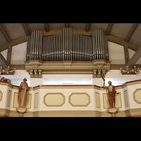 Berlin - Reinickendorf, St. Hildegard Frohnau (Positiv), Orgelempore