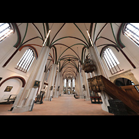 Berlin (Mitte), Museum Nikolaikirche, Innenraum in Richtung Chor