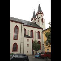 Hof, St. Michaelis, Außenansicht von der Seite